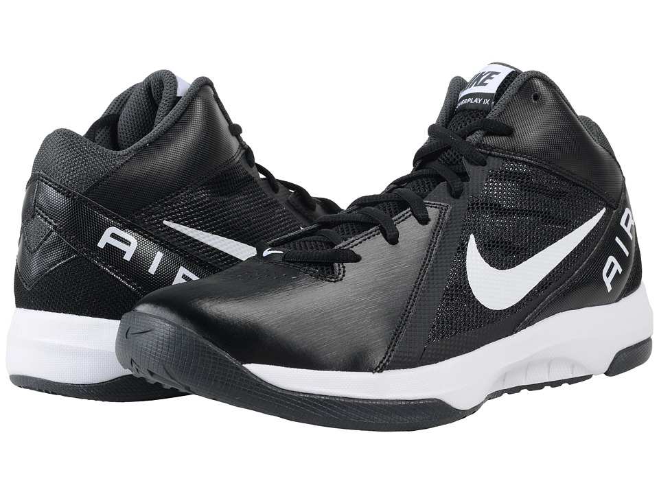 Nike - The Air Overplay IX (Black/Anthracite/Dark Grey/White) Mens Basketball Shoes