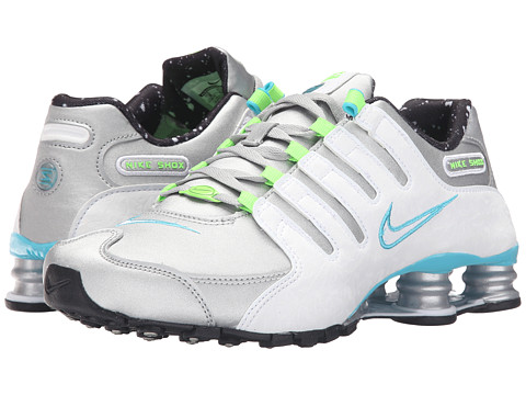Nike Shox NZ - Metallic Silver/White/Gamma Blue Electric