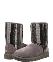 UGG - Classic Short Woven Suede