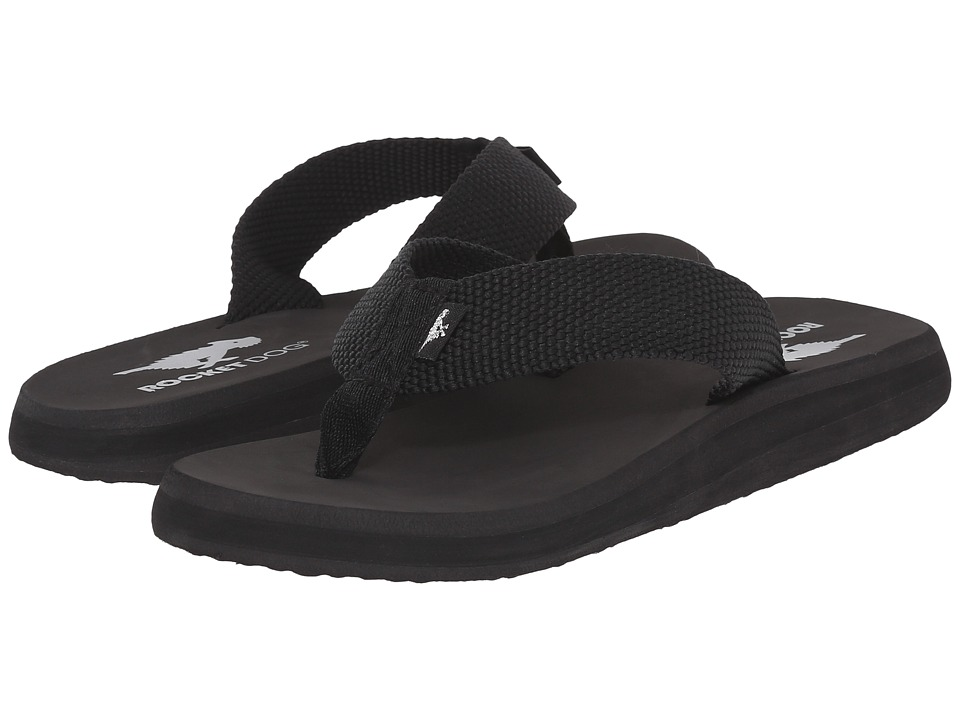 Rocket Dog Nina Comfort Black Webbing Womens Sandals