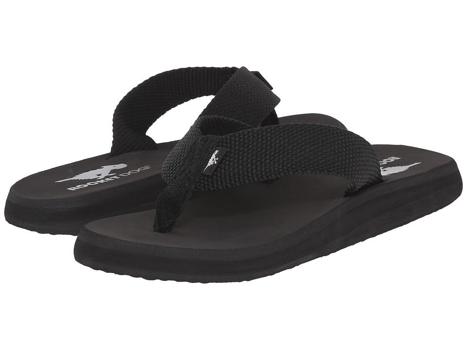 Rocket Dog Nina Comfort Black Webbing Womens Sandals