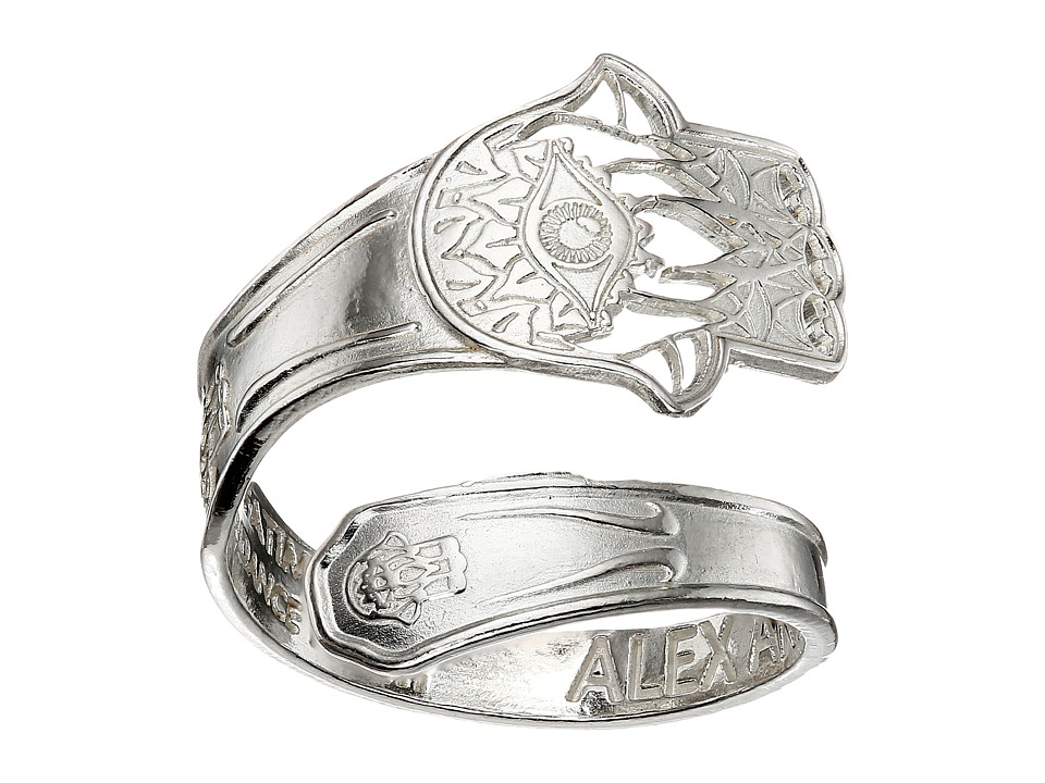 Alex and Ani - Spoon Ring (Silver Hand of Fatima) Ring