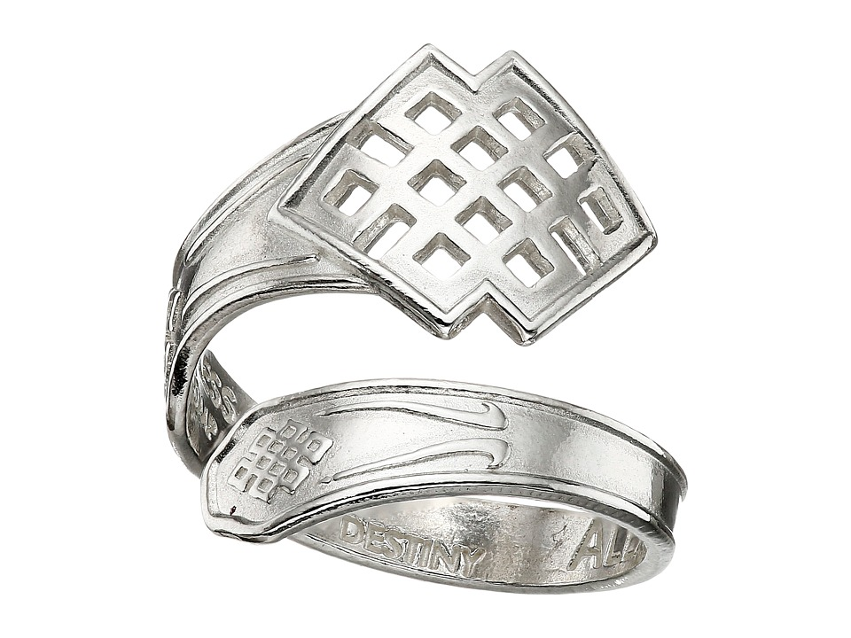 Alex and Ani - Spoon Ring (Silver Endless Knot) Ring