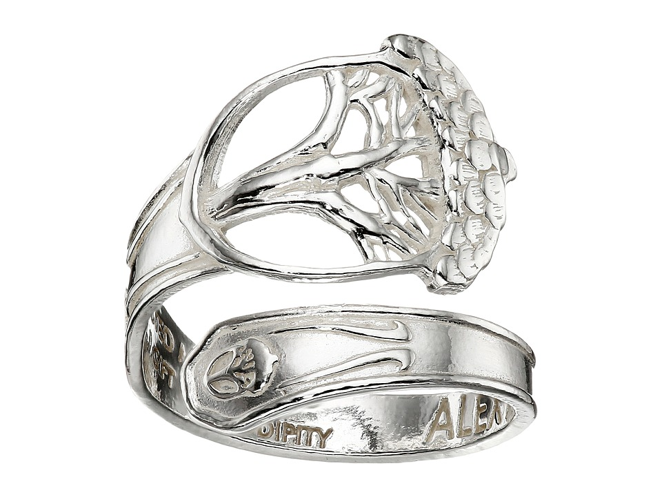 Alex and Ani - Spoon Ring (Silver Unexpected Miracles) Ring