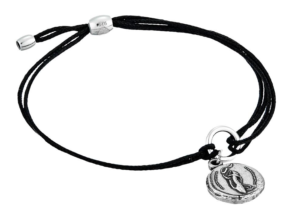 Alex and Ani Kindred Cord Charm Bracelet Ballet Slipper Bracelet