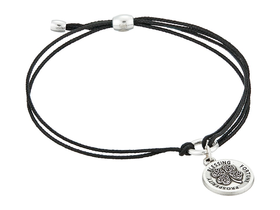 Alex and Ani Kindred Cord Charm Bracelet Four Leaf Clover Bracelet