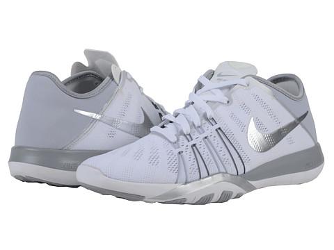 Nike Free TR 6 - White/Wolf Grey/Metallic Silver