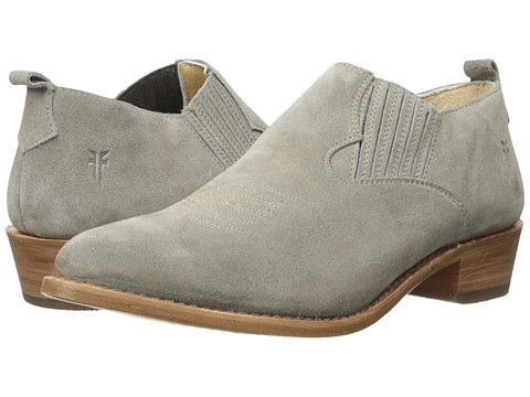 Frye Billy Shootie - Dark Grey Oiled Suede