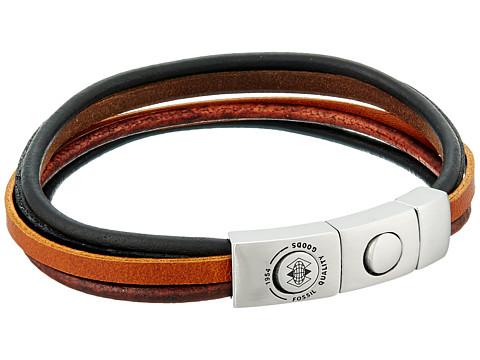 Fossil Multi-Strand Leather Bracelet