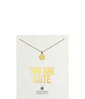 Dogeared - You Are Cute Button Necklace
