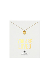 Dogeared - You Are Loved Faceted Heart Necklace