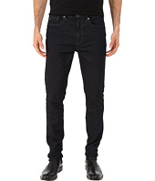Kenneth Cole Sportswear - Five-Pocket Knit Jeans in Dark Indigo