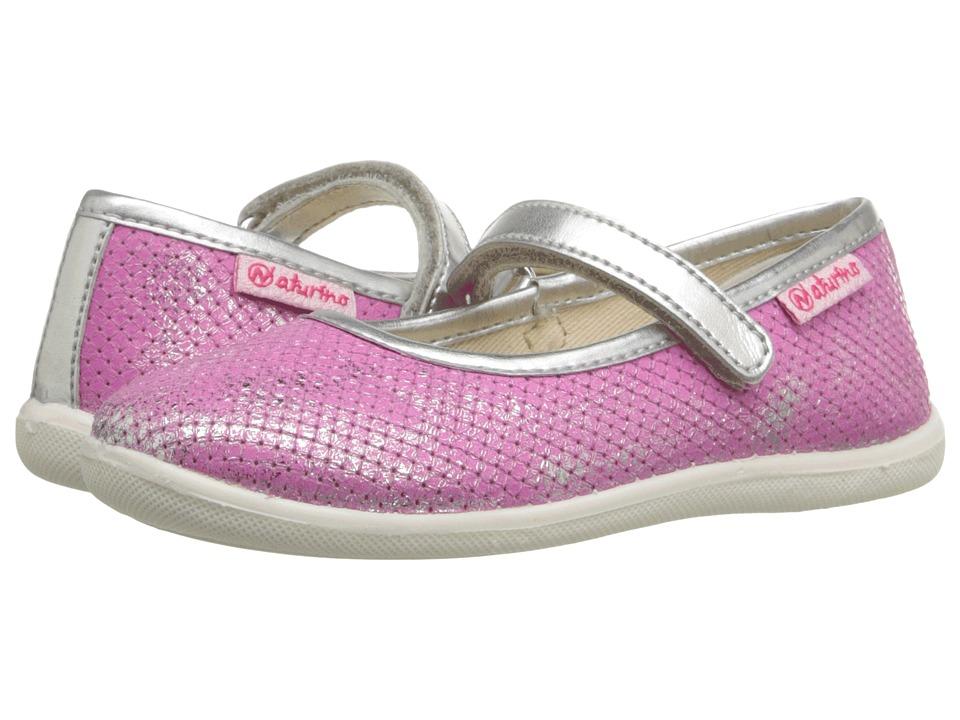 Naturino Nat. 7944 USA SS16 Toddler/Little Kid/Big Kid Pink 1 Girls Shoes