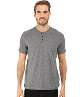 Kenneth Cole Sportswear - Short Sleeve Stripe Henley
