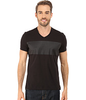 Kenneth Cole Sportswear - Short Sleeve Crew w/ Rubber Print