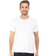Kenneth Cole Sportswear - Short Sleeve Rib Crew w/ Zipper