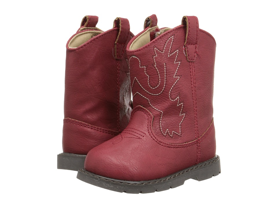 Baby Deer Western Boot Infant/Toddler Red Cowboy Boots