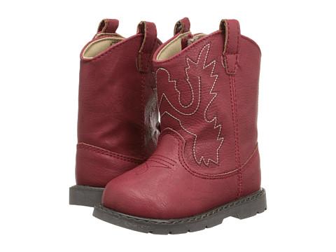 Baby Deer Western Boot (Infant/Toddler) - Red