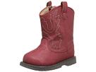 Baby Deer Western Boot (Infant/Toddler) (Red)