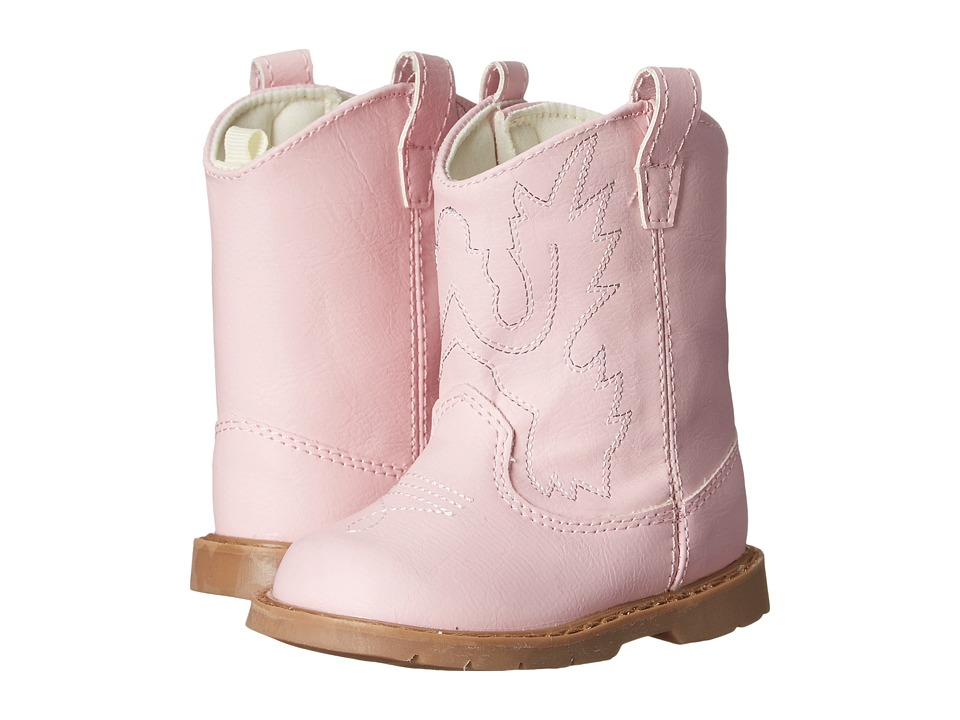 Baby Deer Western Boot Infant/Toddler Pink Cowboy Boots