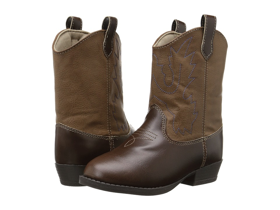Baby Deer Western Boot Toddler/Little Kid Brown Cowboy Boots