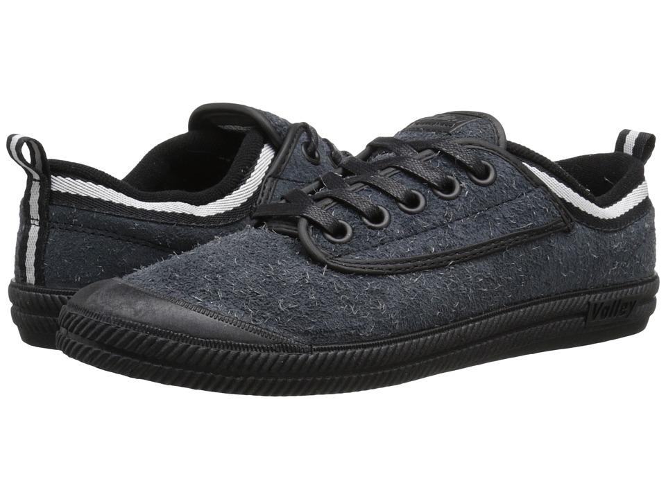 Volley Australia International Hairy Suede Black/Black Mens Shoes