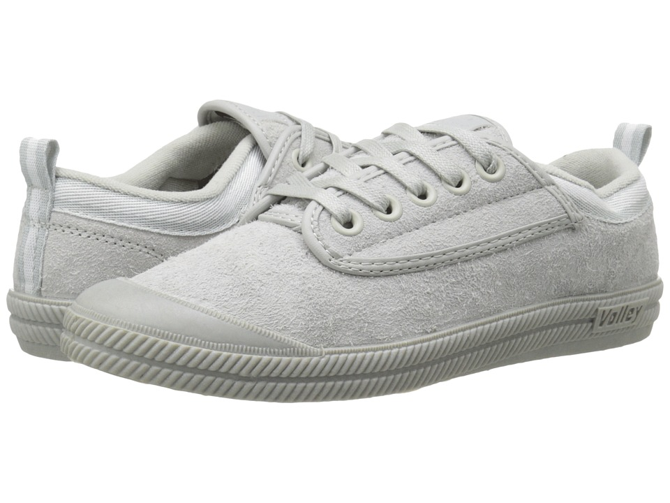 Volley Australia International Hairy Suede Light Grey Mens Shoes