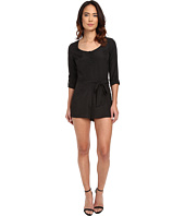 Jack by BB Dakota - Patty Crepon Button Front Romper