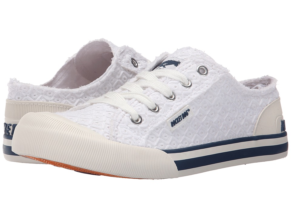Rocket Dog Jazzin White Kingsley Womens Lace up casual Shoes
