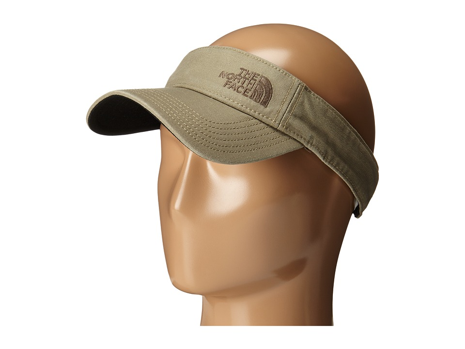 The North Face 66 Classic Visor Mountain Moss/Weimaraner Brown Casual Visor