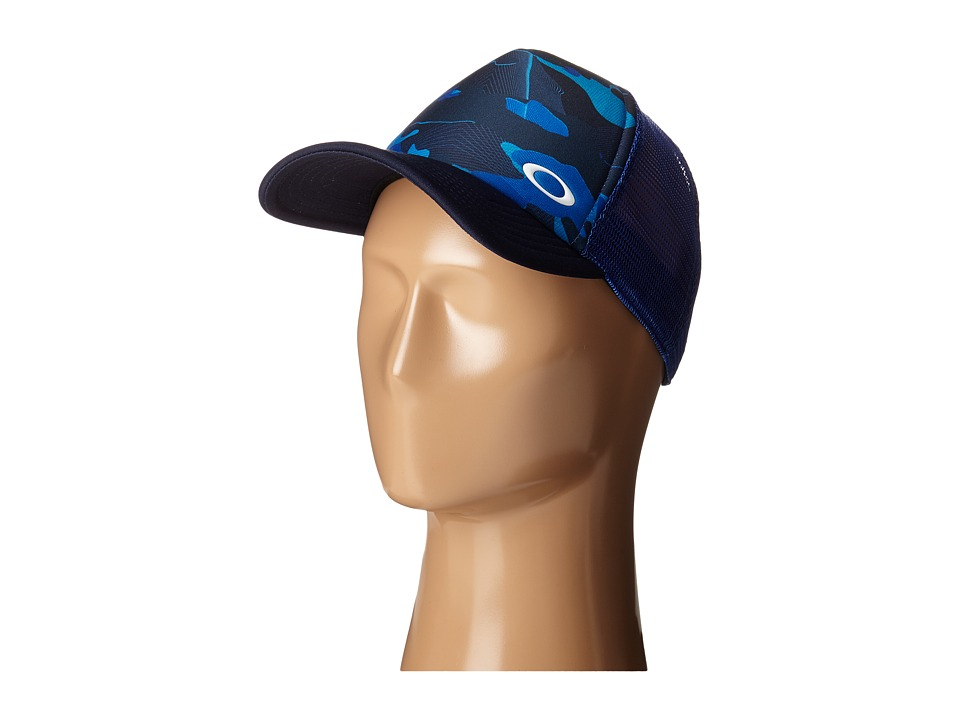 Oakley Sublimated Foam Trucker Hat Sapphire Caps
