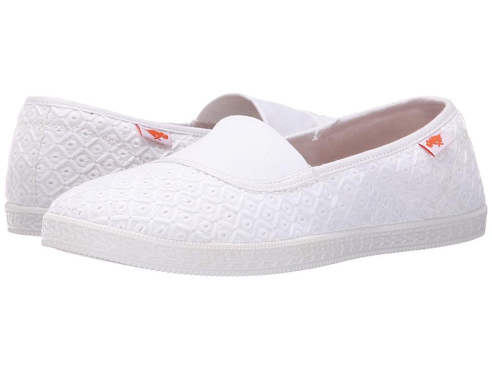 Rocket Dog Parton White Kingsley Womens Flat Shoes