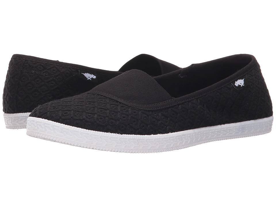 Rocket Dog Parton Black Kingsley Womens Flat Shoes