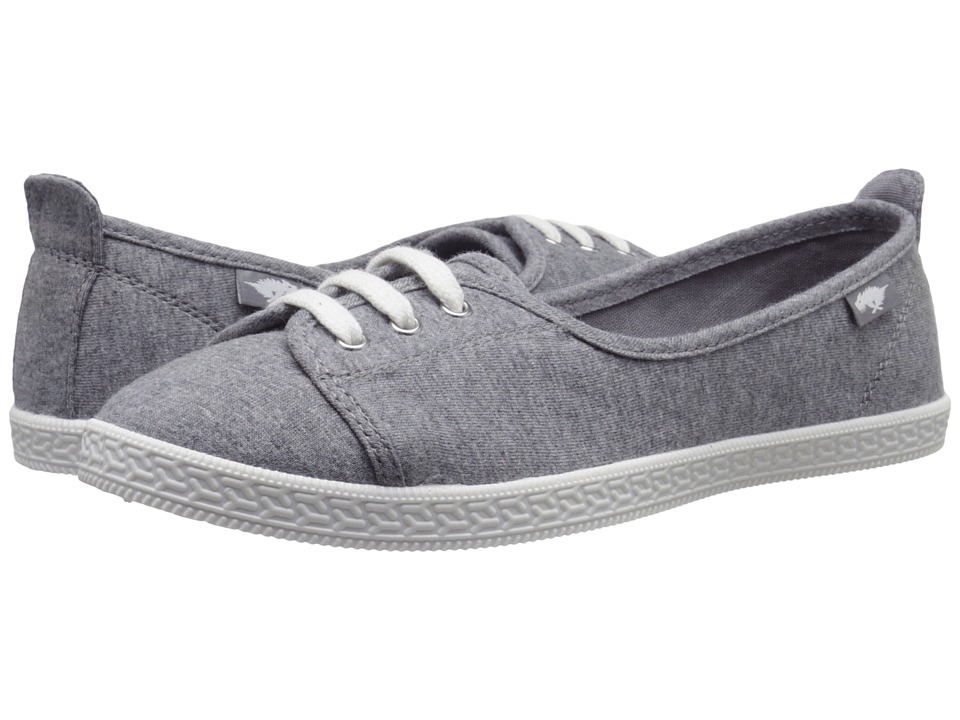 Rocket Dog Penny Grey Summer Jersey Womens Lace up casual Shoes