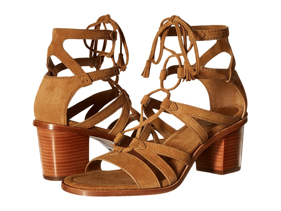Frye - Brielle Gladiator (Sand Suede) High Heels
