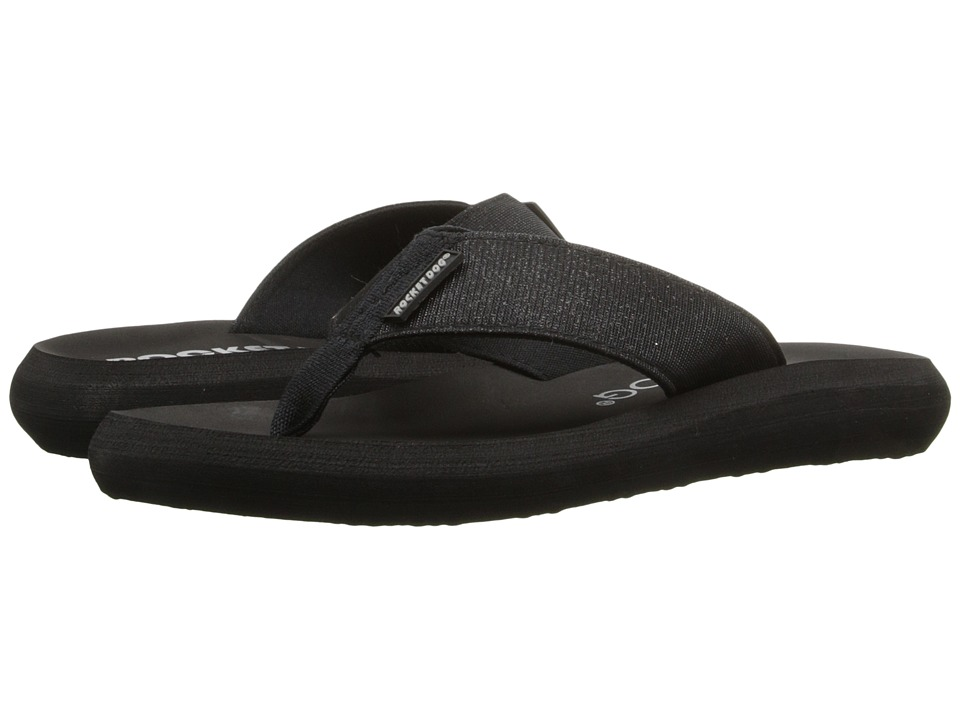 Rocket Dog Spotlight Comfort Black Odyssey Womens Sandals
