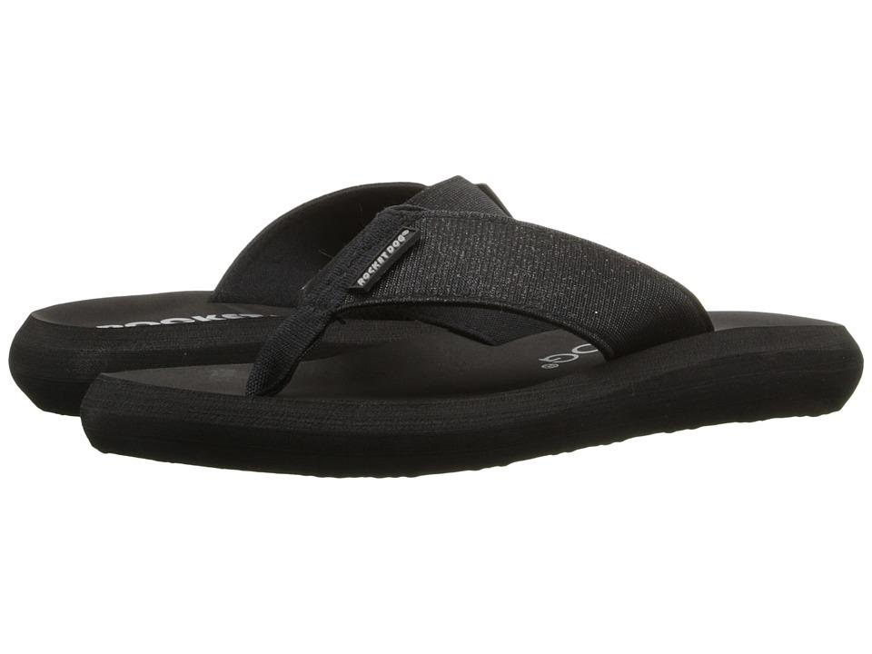 Rocket Dog Spotlight Comfort Black Odyssey Womens Sandals