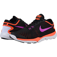 Nike Flex Supreme TR 4 Women's Training Shoe - Black/Total Crimson/White/Hyper Violet