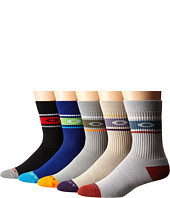 Oakley - Performance Basic 5-Pack Crew Socks