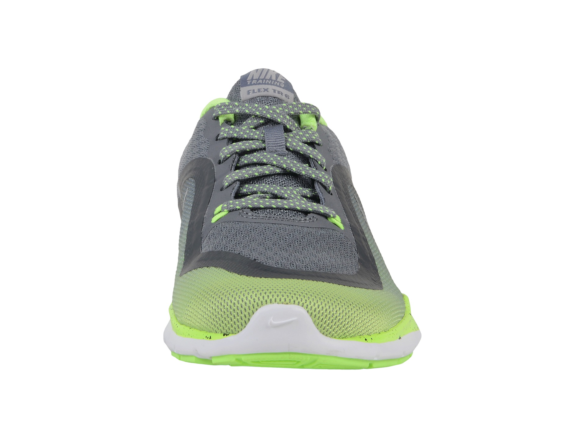 nike flex trainer 6 print cool grey ghost green wolf grey. Black Bedroom Furniture Sets. Home Design Ideas