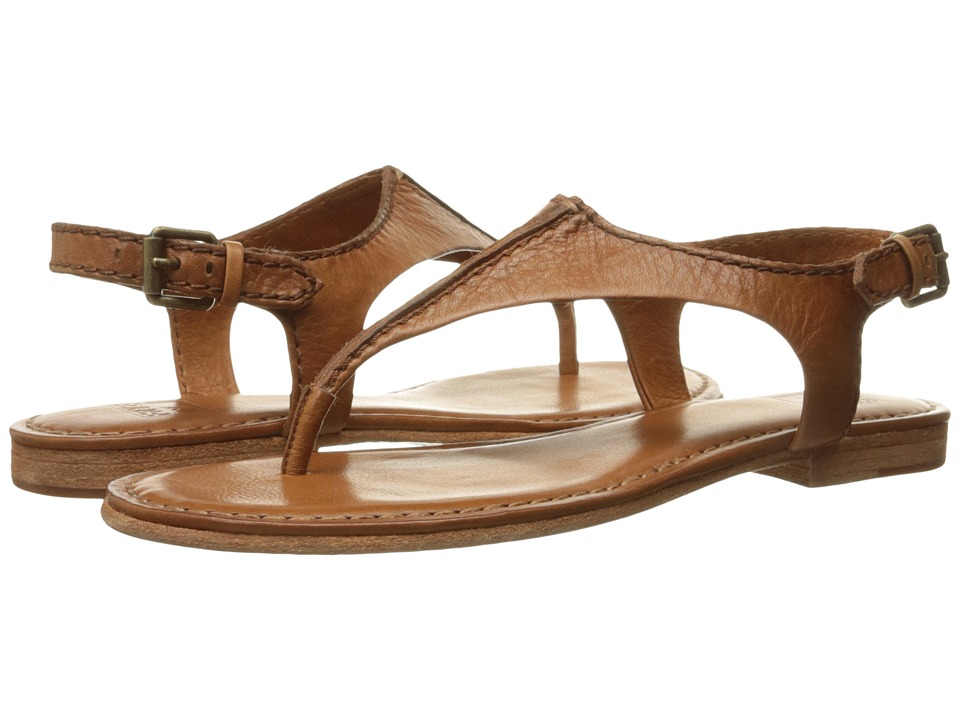 Frye - Carson Seam T (Whiskey Soft Vintage Leather) Women