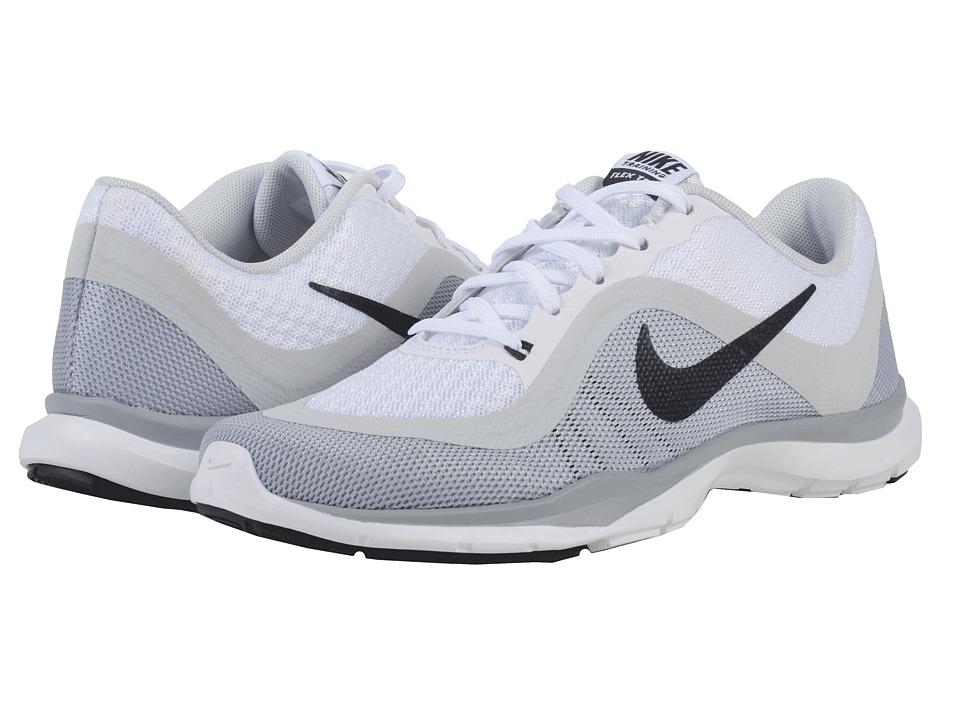 Nike Flex Trainer 6 (White/Pure Platinum/Wolf Grey/Anthracite) Women
