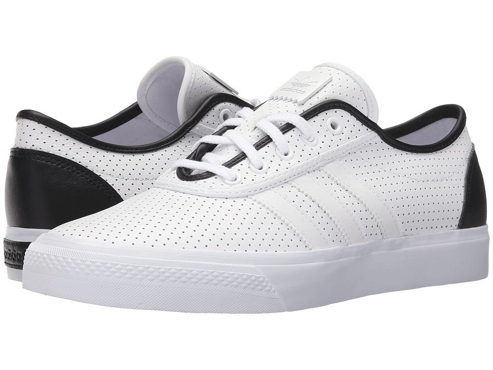 adidas Skateboarding Adi Ease Classified White/Black/White Mens Skate Shoes