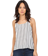Jack by BB Dakota - Eddy Stripe Printed Rayon Challi Crossback Tank