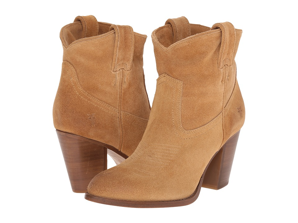Frye Ilana Short Boot (Sand Oiled Suede) Women