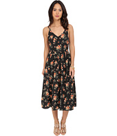 Jack by BB Dakota - Lizzie Rose Revival Printed Crepon Midi Dress
