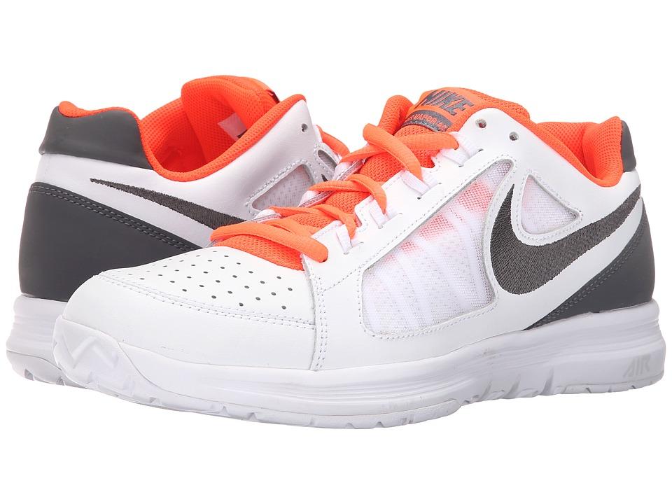 Nike - Air Vapor Ace (White/Total Crimson/Gamma Blue Blue/Dark Grey) Mens Tennis Shoes