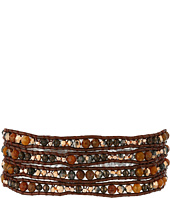 Chan Luu - 32' Pietersite Mix with Crystals Wrap Bracelet