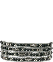 Chan Luu - 32' Black Mix/Grey Wrap Bracelet