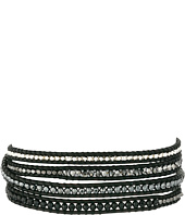 Chan Luu - 32' Onyx Mix/Natural Black Wrap Bracelet